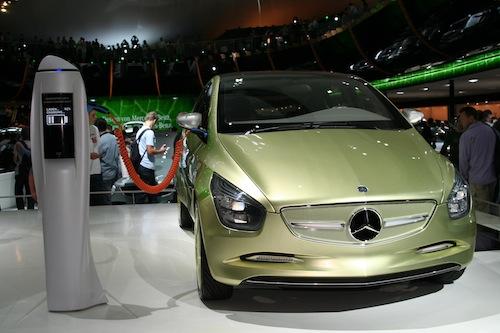 Autosalon IAA Frankfurt 2009 - Mercedes-Benz F-CELL