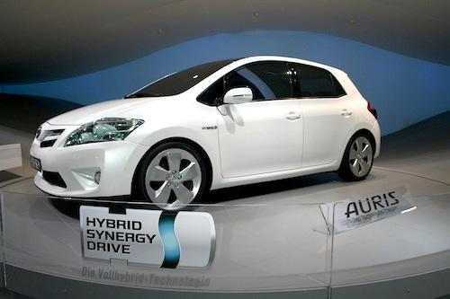 Autosalon IAA Frankfurt 2009 - Toyota Auris HSD Full Hybrid