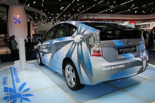 Autosalon IAA Frankfurt 2009 - Toyota Prius plug-in hybrid