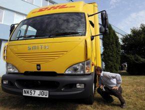 AVIA - Smith nákladní elektromobil