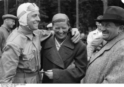 Historie hybridních aut - Bernd Rosemeyer, Elly Beinhorn, Ferdinand Porsche