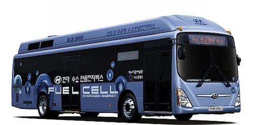 Hyundai autobus na vodíkové palivové články