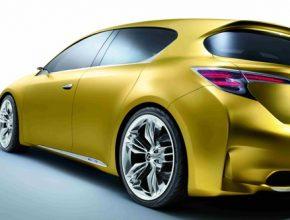 Lexus LF-Ch hybridní kompakt