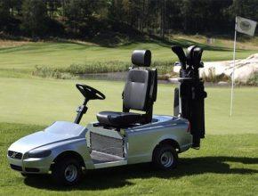 Volvo golfový vozík