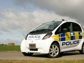 Mitsubishi i MiEV policejní verze