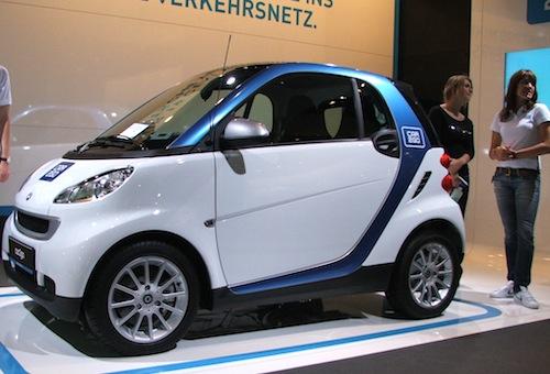 Smart Electric Drive na autosalonu ve Frankfurtu 2009