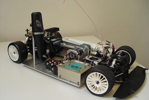 Fraunhoferův institut - redux fow baterie - prototyp elektromobilu