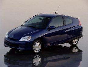 Honda - hybridní auta - Insight první generace