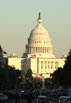 Washington D.C. - Kapitol - sídlo poslanecké sněmovny - Kongresu