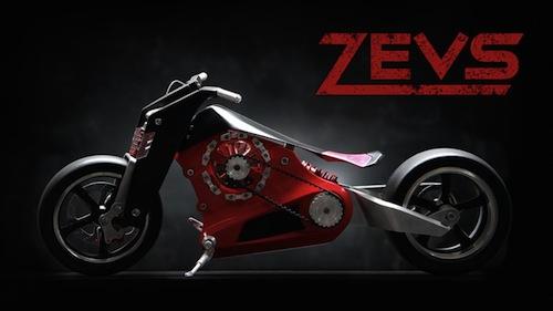 elektromotocykly - ZEVS