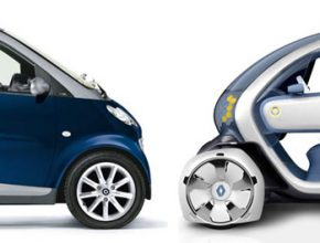 Renault Twizy a Smart ForTwo