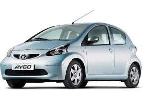 Toyota Aygo - katalog automobilů