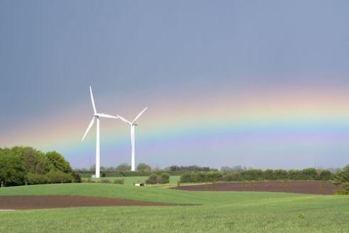 klimatická konference v Kodani - Dánsko - větrné elektrárny
