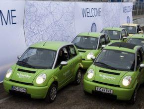 klimatická konference v Kodani - elektromobily Think City