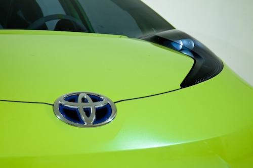 Toyota hybrid koncept pro Autosalon v Detroitu