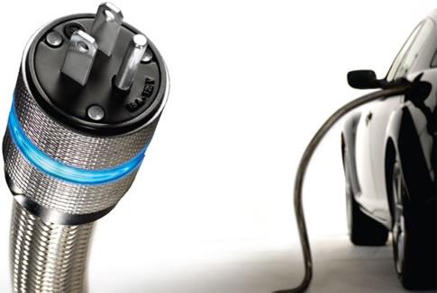 elektromobily - dobíjení - zásuvka