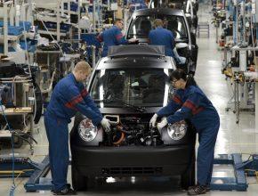Think - továrna, kde se vyrábějí elektromobily Think City