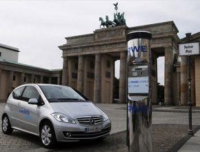 Elektromobily - Mercedes-Benz - e-mobility Berlín