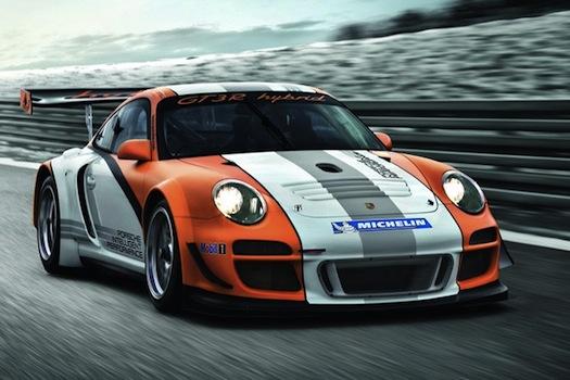 Porsche - hybrid - KERS