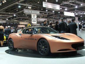 Ženevský autosalon - Lotus Evora 414E Hybrid
