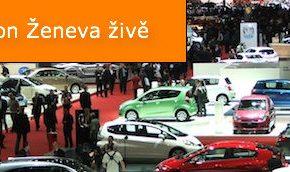 Autosalon Ženeva 2010 živě