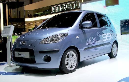 Autosalon Ženeva 2010 - Hyundai i10 blue