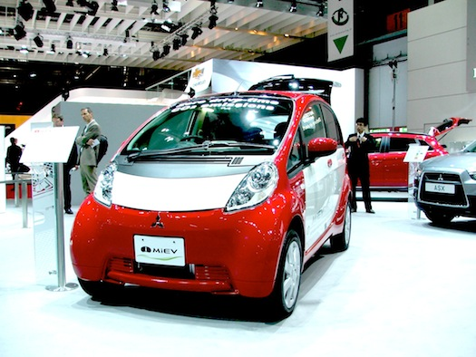 Autosalon Ženeva 2010 - Mitsubishi iMiEV