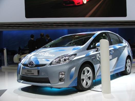 Autosalon Ženeva 2010 - Toyota Prius plug-in hybrid