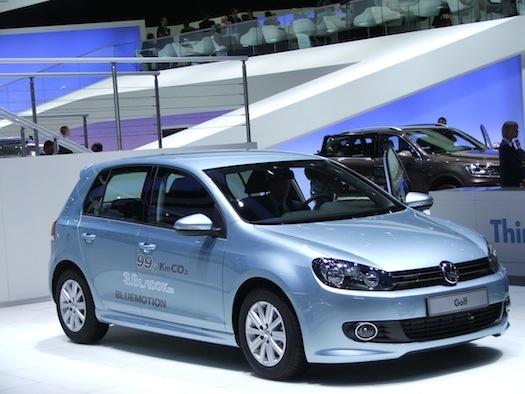 Autosalon Ženeva 2010 - Volkswagen Golf Bluemotion