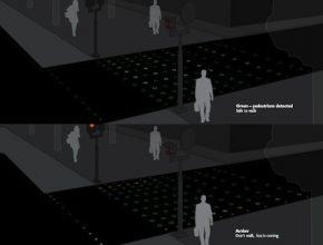 Bezpečnost provozu - Philips přechod pro chodce LED