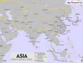 Čína - vysokorychlostní železnice Asie - Evropa