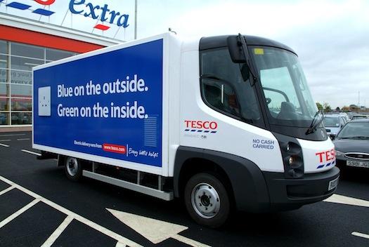 Elektromobily - Tesco Modec nákladní auto