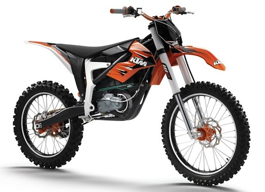 Elektrické motocykly - KTM Freeride enduro