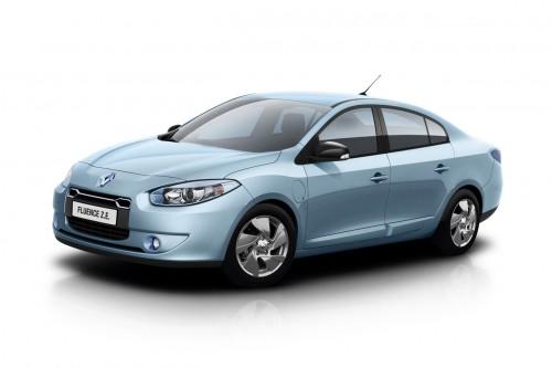 Hybrid.cz obrázky elektromobil Renault Fluence ZE