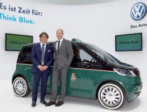 Hybrid.cz obrázky elektromobil Volkswagen Milano Taxi