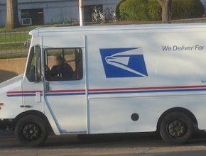 Hybrid.cz obrázky Americká poštovní dodávka