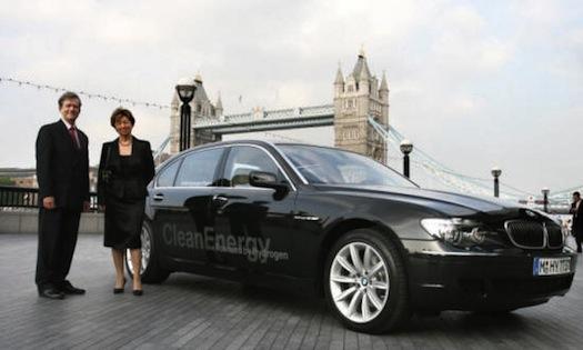 Hybrid.cz obrázky auta na vodík BMW Hydrogen 7