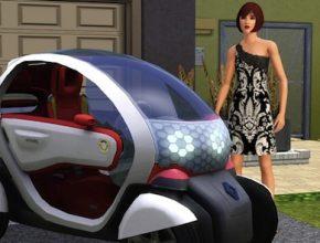 Hybrid.cz obrázky elektromobily Renault Twizy ZE