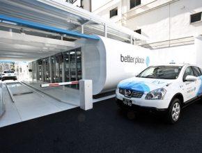 Hybrid.cz obrázky Project Better Place Japonsko Tokyo taxi Nihon Kotsu