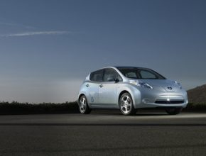 elektromobily - Nissan Leaf