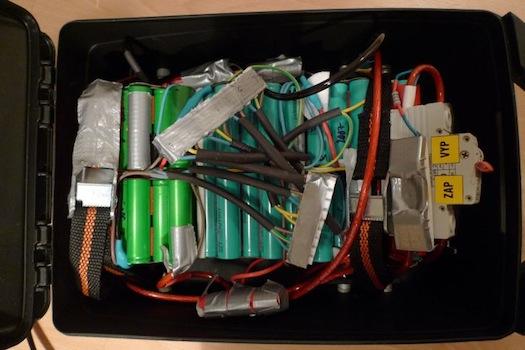 Elektrokola - Jak postavit elektrokolo - baterie