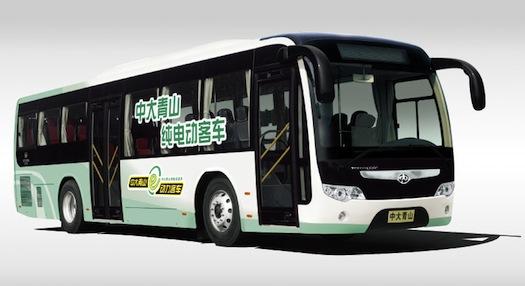 Elektromobily - Elektrický autobus Čína