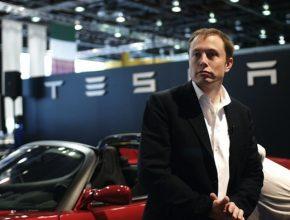 elektromobily - Elon Musk Tesla Roadster
