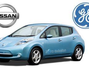 Nissan elektromobily General Electric - Leaf