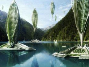 vzducholodě - Vincent Callebaut vodíkové vzducholodě