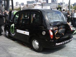 Auta na vodík - Londýn - Olympijské hry - vodíkové taxi