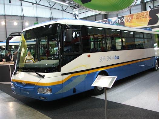 Autosalon Brno - Autotec 2010 - elektrobus SOR EBN