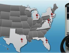 Dobíjecí stanice - ChargePoint America - Coulomb Technologies