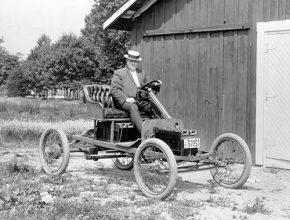 elektromobily - Ford - prototyp Model T