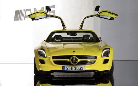 Mercedes-Benz SLS AMG E-Cell Gullwing